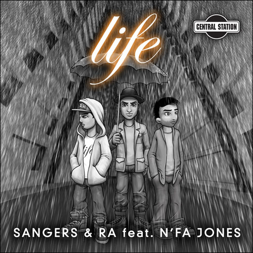 Life - Cover art for Sangers and Ra